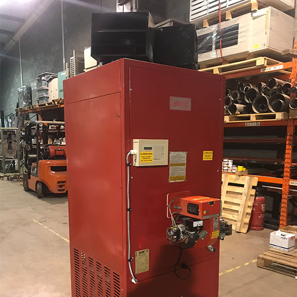 Fully Refurbished Combat Pgp40 Floor Standing Gas Heater