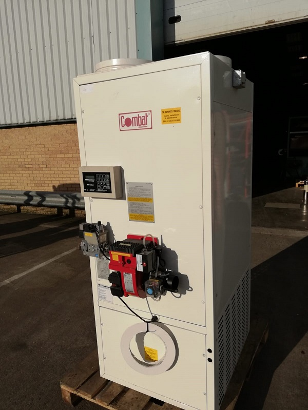 Fully Refurbished Combat Pgp30 Floor Standing Gas Heater