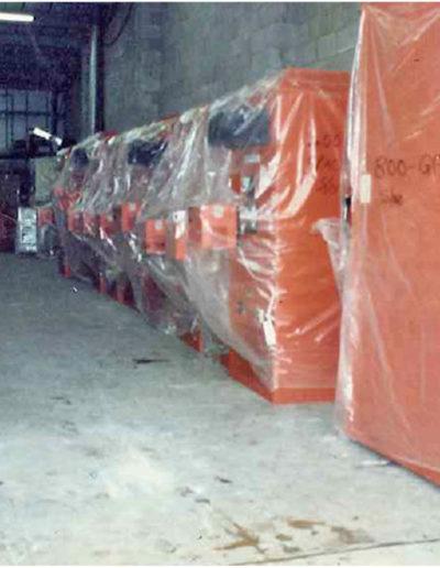 Samson heaters factory stock – circa 1982.