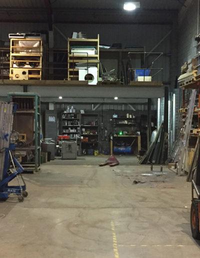 View inside our 10,000ft Blackburn workshop / factory premises.