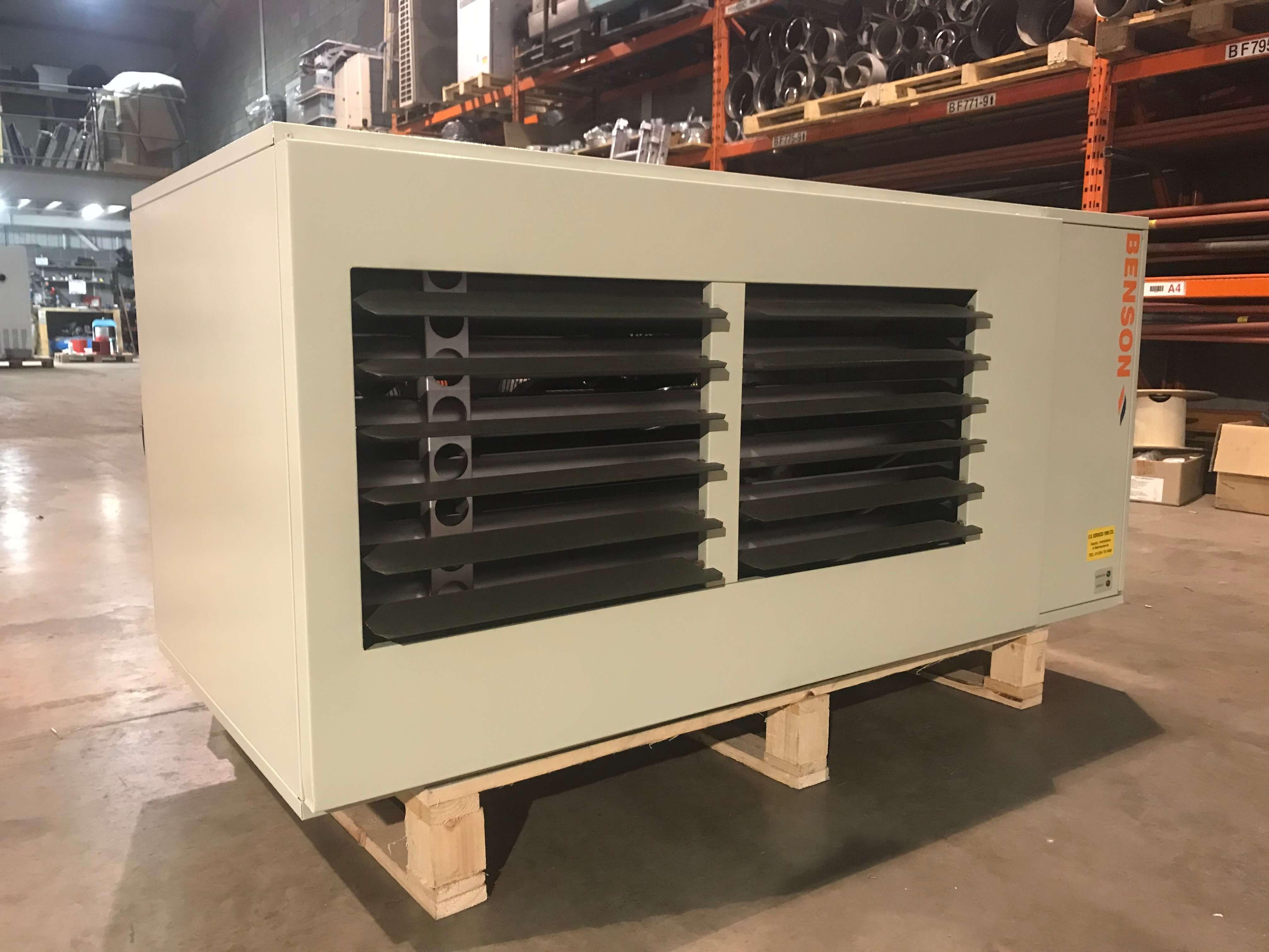 Benson VRA 95 Refurbished Suspended gas heater (1)
