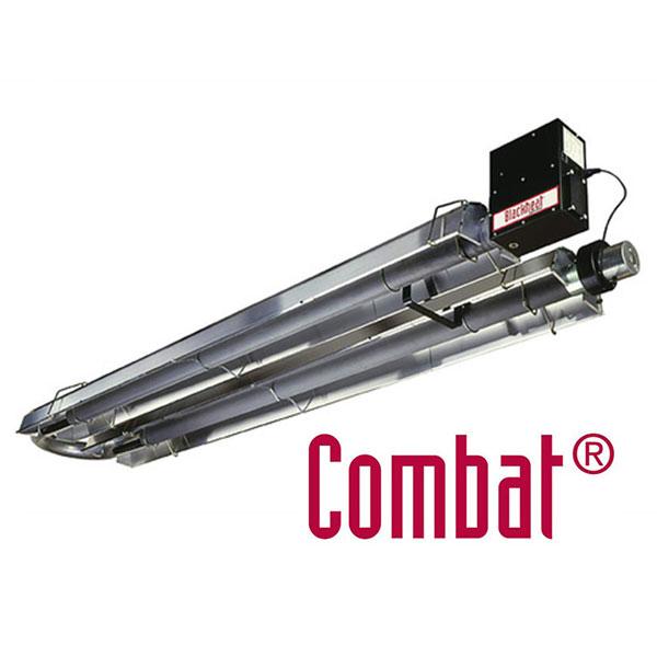 Combat complete u tube radiant heaters