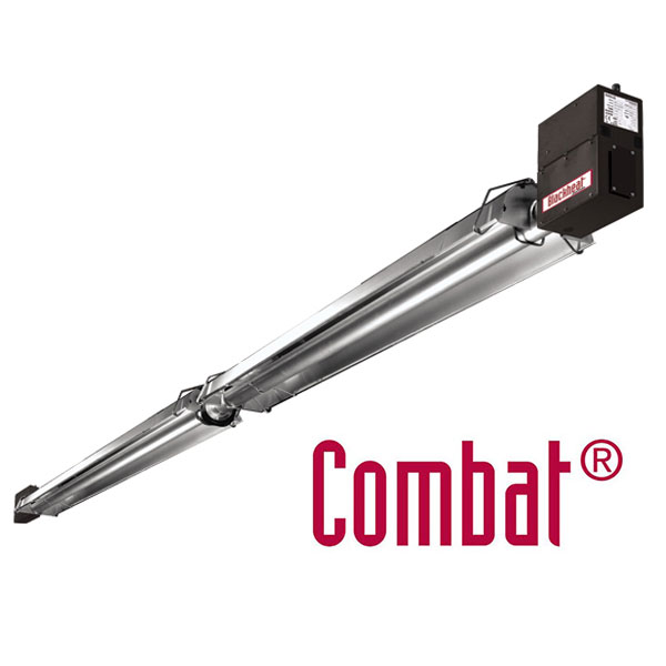 Combat complete double linear radiant heater