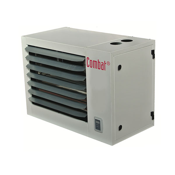 COMBAT ECO Condensing unit heater installed by CK Services 1990 Ltd