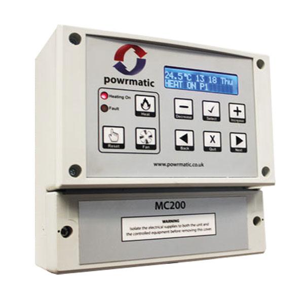 Powrmatic mc200-optimised-control